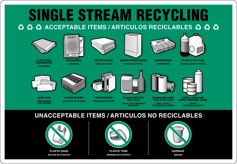 Single stream recycling westfield ma